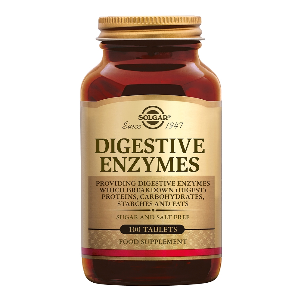 Solgar Digestive Enzymes 100tab
