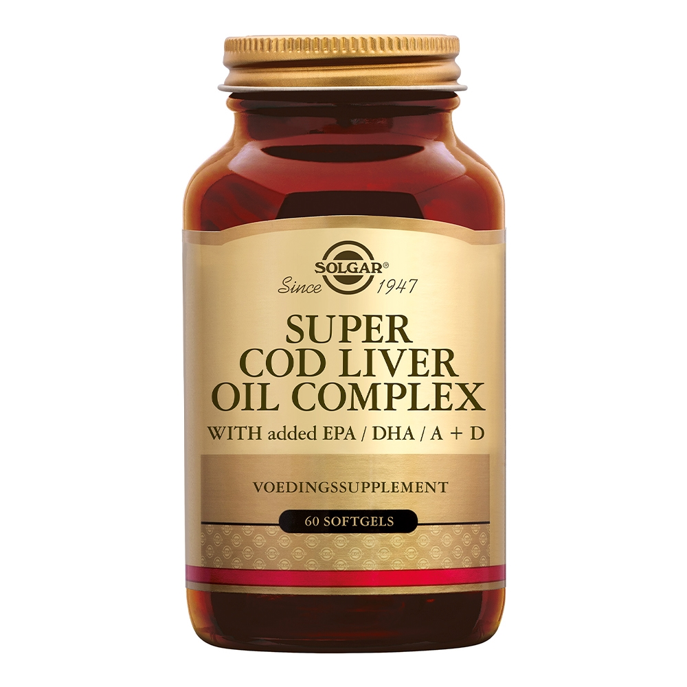 Super Cod Liver Oil Complex (levertraan met visolie en vitamine D)