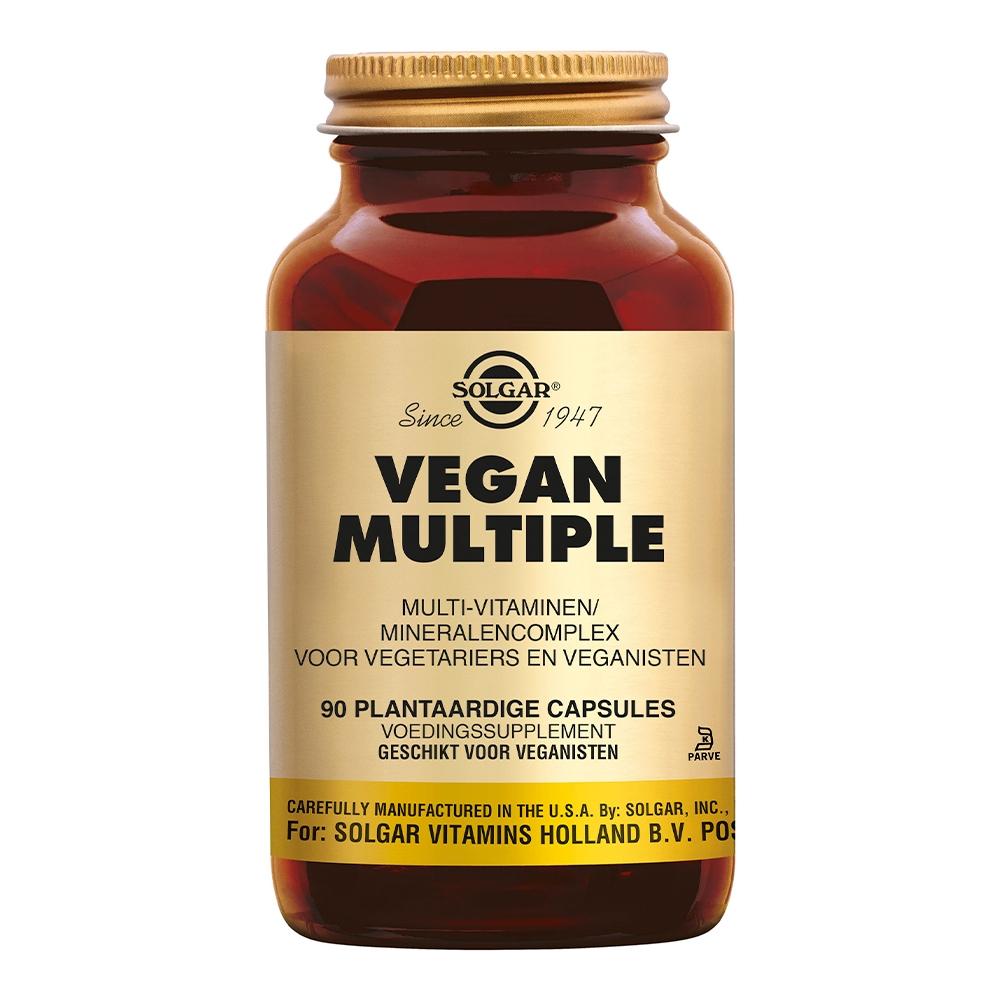 Afbeelding van Solgar Vitamins Vegan Multiple (voorheen Vegetarian Multiple)