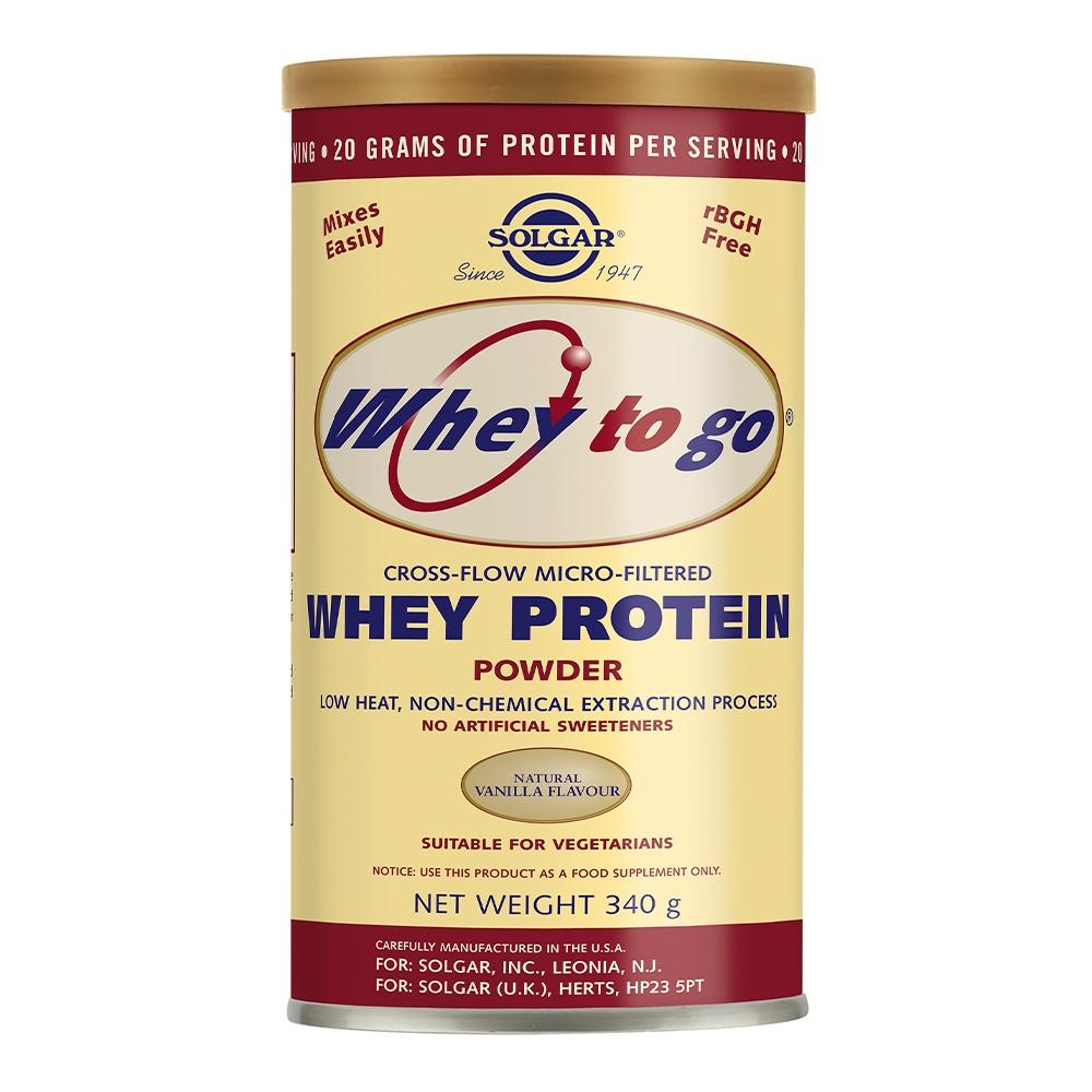 Solgar Whey To Go Protein Vanilla 340 gram