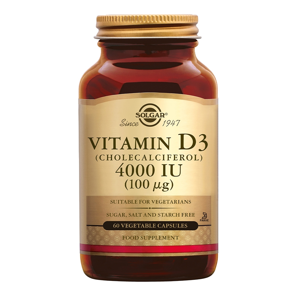 Vitamin D-3 4000 IU /100µg (vitamine D uit wolvet)