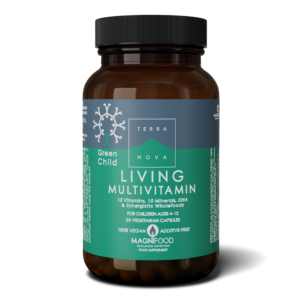Afbeelding van Terranova Green Child Living Multivitamins (vegan)