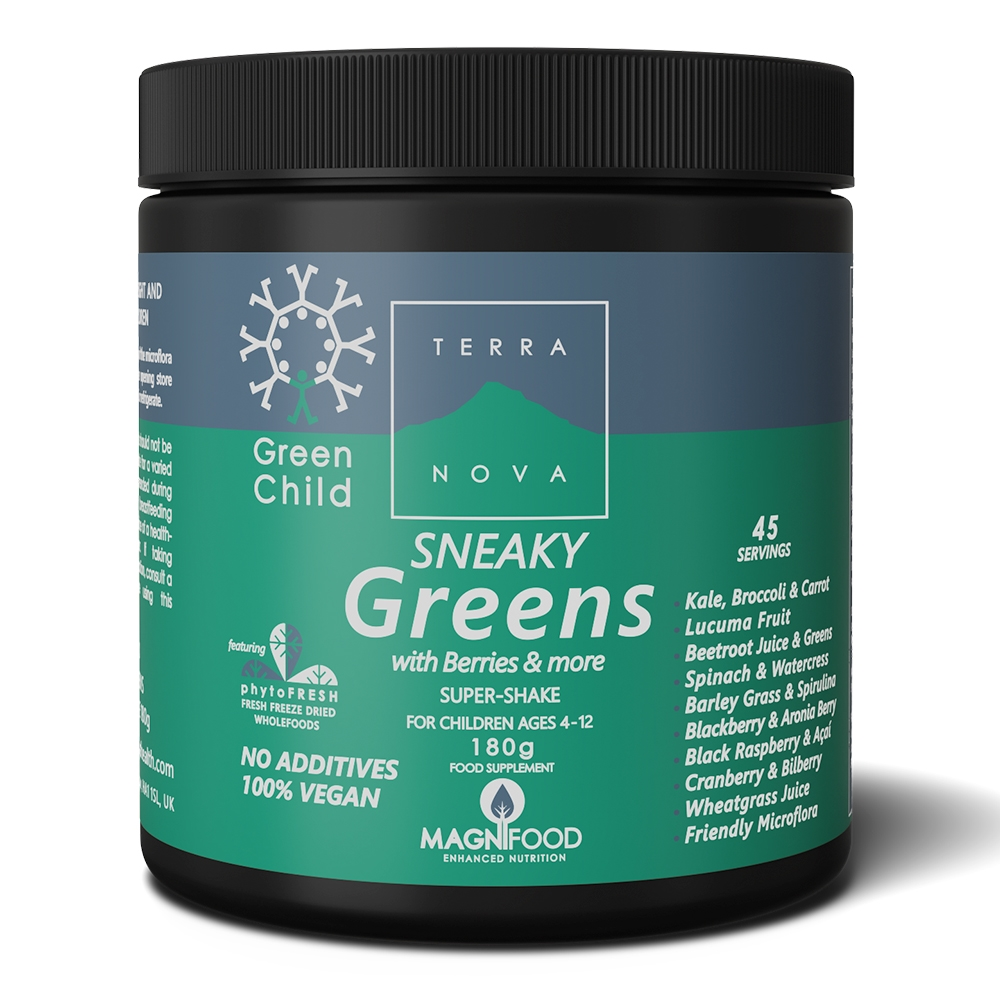 Afbeelding van Terranova Green Child Sneaky Greens Sneaky Shake (vegan)