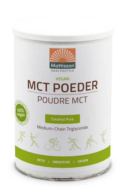 Afbeelding van Mattisson Healthstyle Vegan MCT Poeder Coconut Pure