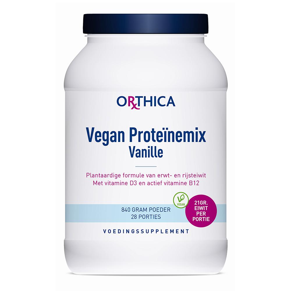 Afbeelding van Orthica Vegan proteinemix vanille