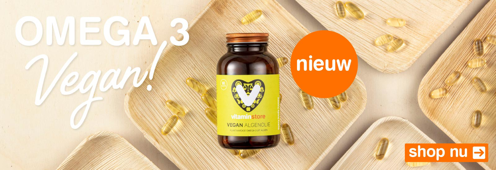 Vitaminstore Vegan Algenolie