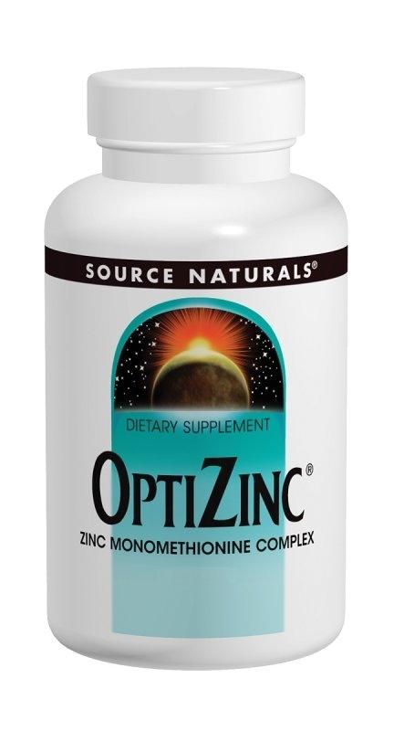 Source Naturals OptiZinc 30 mg afbeelding