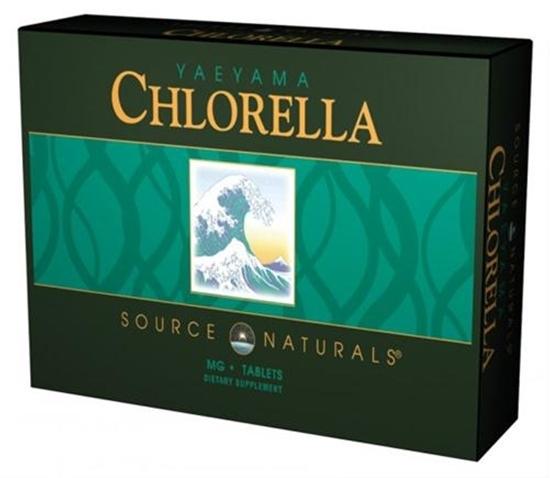 Source Naturals Chlorella Yaeyama 200 mg afbeelding
