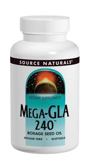 Source Naturals Mega GLA 240 afbeelding