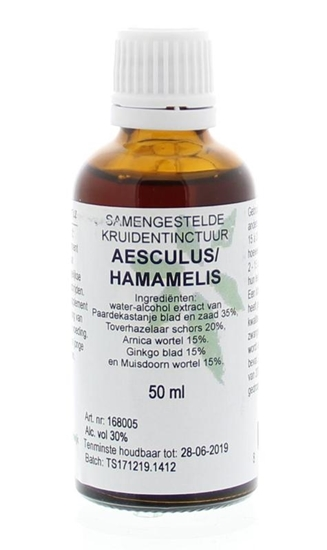 Natura Sanat Aesculus / hamamelis compl tinctuur afbeelding