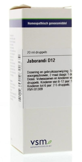 VSM Jaborandi D12 afbeelding