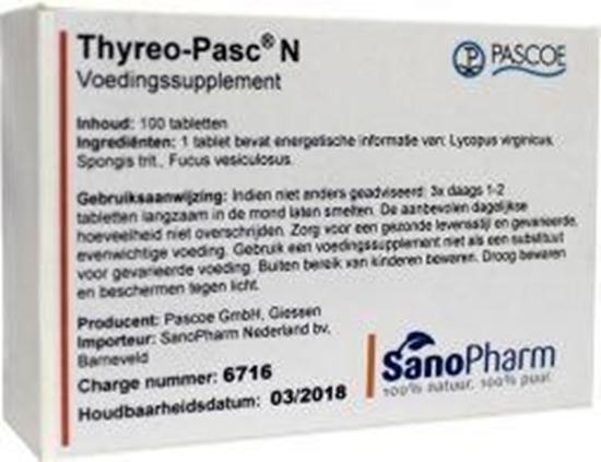 Pascoe Thyreo-pasc afbeelding