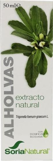 Aholvas Trigonella foenum graecum extract glyc afbeelding