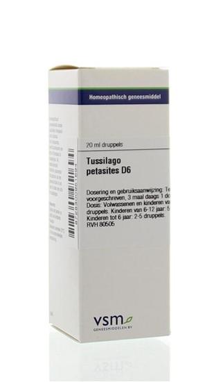 VSM Tussilago petasites D6 afbeelding