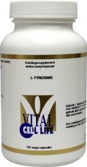 Vital Cell Life Tyrosine 400 mg afbeelding