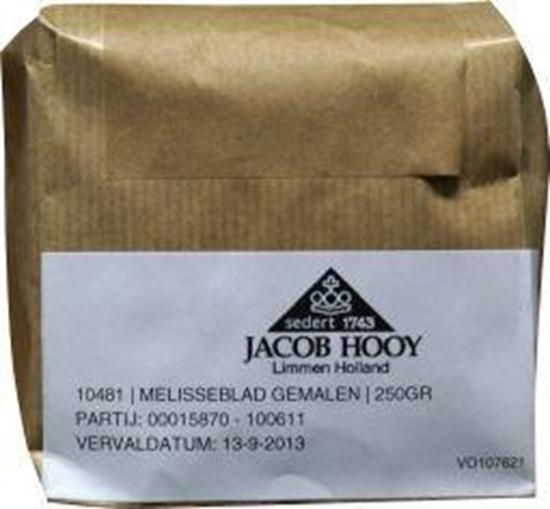 Jacob Hooy Melisseblad gemalen afbeelding