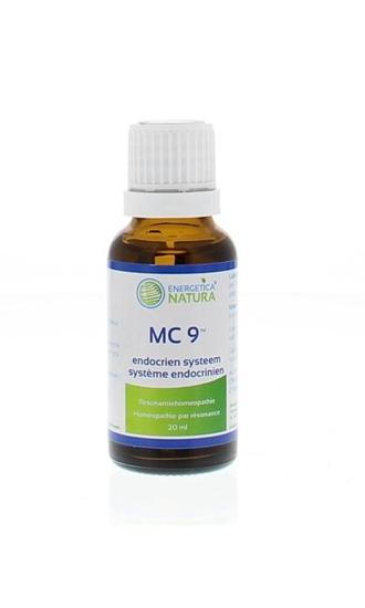 Energetica Nat MC 9 endocrien systeem afbeelding