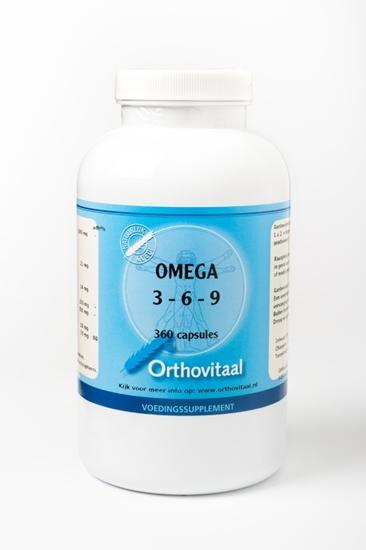 Orthovitaal Omega visolie 3 6 9 afbeelding