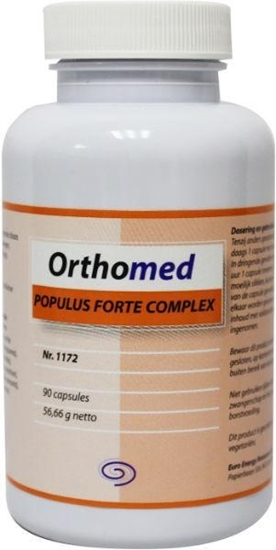 Orthomed Populus forte complex afbeelding