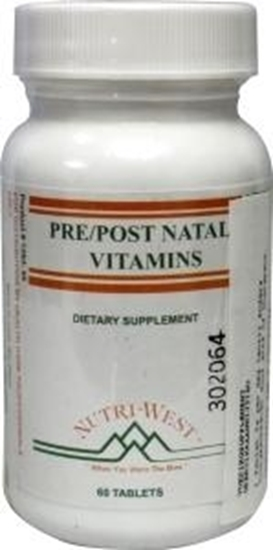 Nutri West Pre post natal vitamins afbeelding