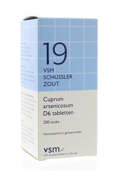 VSM Cuprum arsenicosum D6 Schussler 19 afbeelding