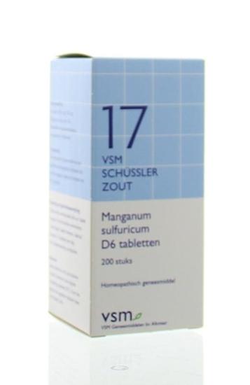 VSM Manganum sulphuricum D6 Schussler 17 afbeelding