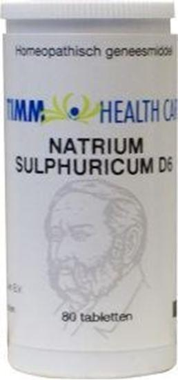 Timm Health Care Natrium sulfur D6 10 Schussler afbeelding