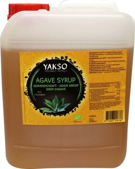Yakso Agave siroop jerrycan afbeelding