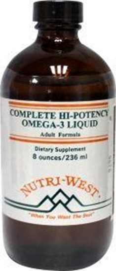 Nutri West Complete hi potency omega 3 afbeelding