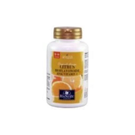 Hanoju Citrus bioflavonoiden zink vit C 385 mg afbeelding