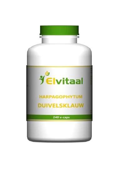 Elvitaal Duivelsklauw harpagophytum afbeelding
