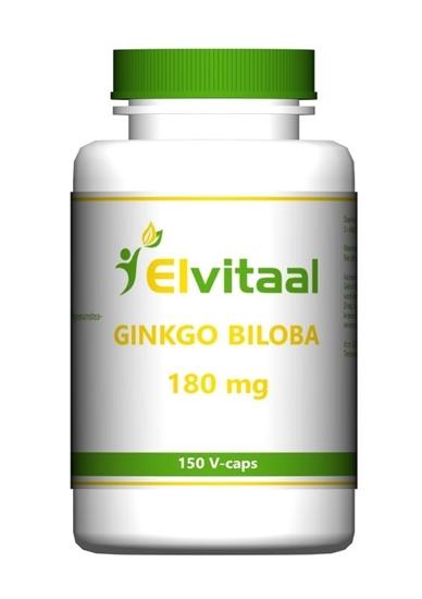 Elvitaal Ginkgo biloba afbeelding