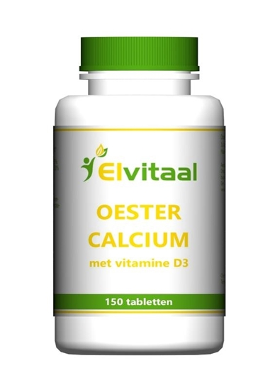 Elvitaal Oestercalcium + vitamine D3 afbeelding