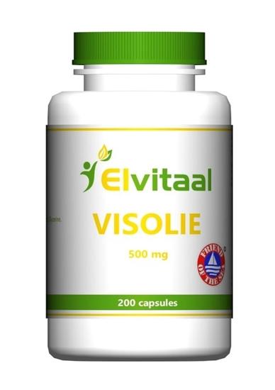 Elvitaal Visolie 500 mg omega 3 30% afbeelding