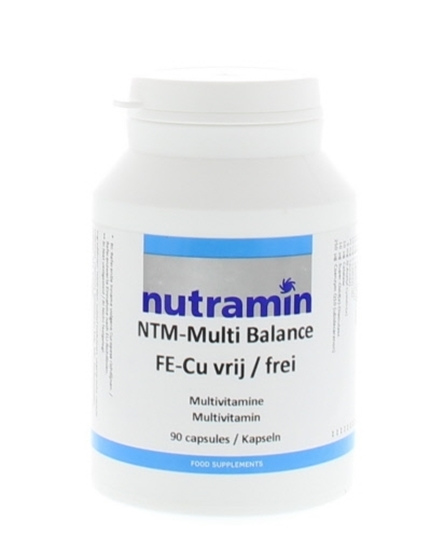 Nutramin NTM Multi balance Z Fe/Cu afbeelding