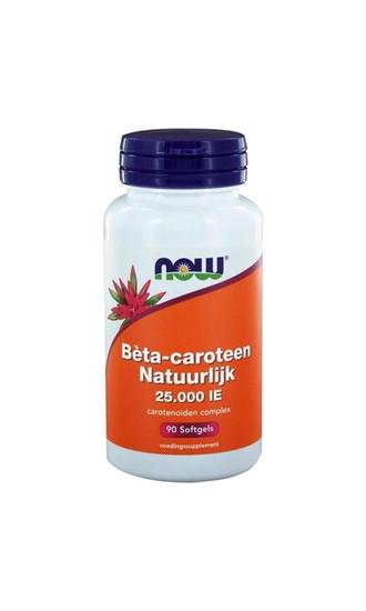 NOW Beta caroteen natuurlijk afbeelding