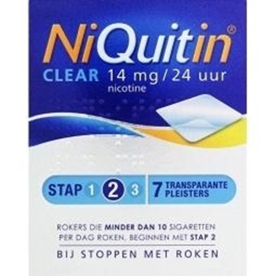 Niquitin Stap 2 14 mg afbeelding