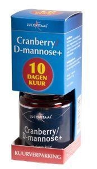 Lucovitaal Cranberry & D Mannose + afbeelding