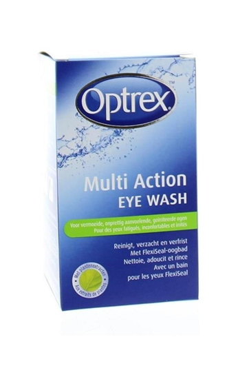Optrex Multi action eye wash oogdouche afbeelding