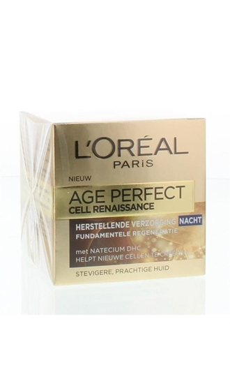 LOreal Age perfect cell renaissance night cream afbeelding