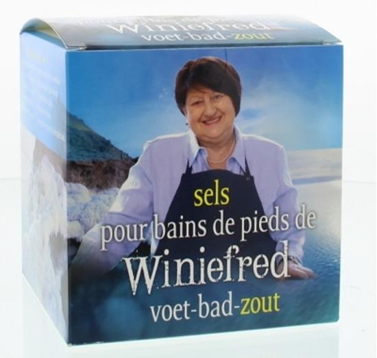 Herborist Winiefreds voet bad zout afbeelding