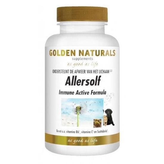 Golden Naturals Allersolf immune actieve formule afbeelding