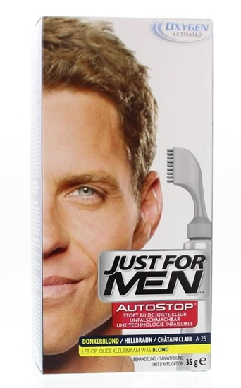 Just For Men Autostop donker blond A25 afbeelding