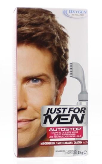 Just For Men Autostop midden bruin A35 afbeelding