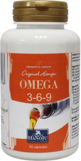 Hanoju Omega 3 6 9 1000 mg afbeelding