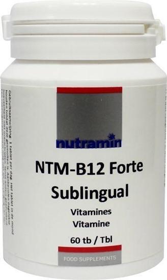 Nutramin NTM B12 forte sublingual afbeelding