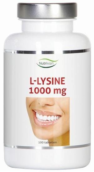 Nutrivian L-Lysine 1000 mg afbeelding