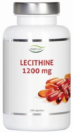 Nutrivian Lecithine 1200 mg afbeelding
