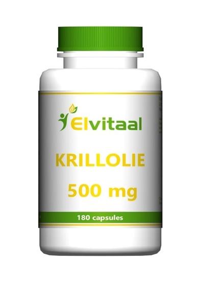 Elvitaal Krill olie 500 mg afbeelding