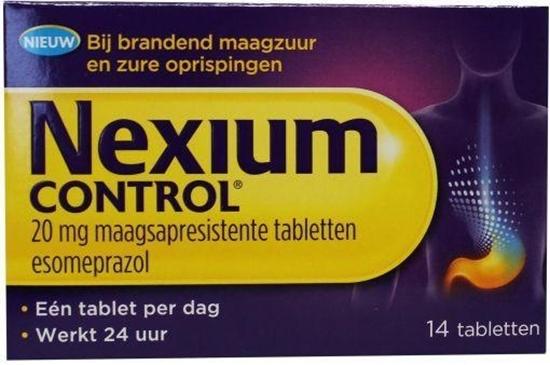Nexium Nexium control afbeelding